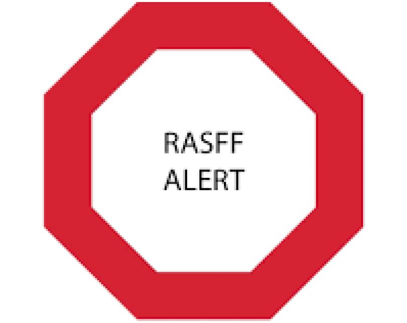 Informe RASFF 2019 sobre alertas de seguridad alimentaria en la UE