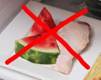 Buenas prácticas para prevenir la contaminación cruzada de los alimentos