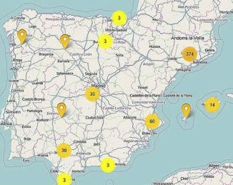 Mapa de la Expansión del Mosquito Tigre en España