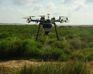 Control de mosquitos-Los drones volarán a diario