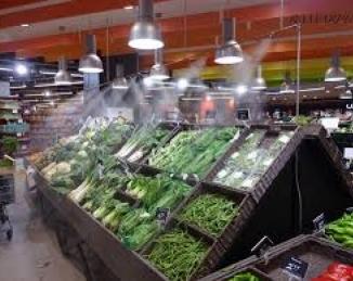 Los sistemas de humidificación de alimentos frescos se consideran seguros en relación a la propagación de COVID-19