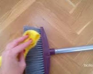 Limpiar la escoba