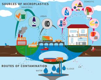 Rutas de la contaminación del plástico